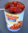 a good tomato product: thick and sweet with no sugar added