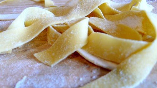 authentic Italian home made pasta, fresh, silky, delicate