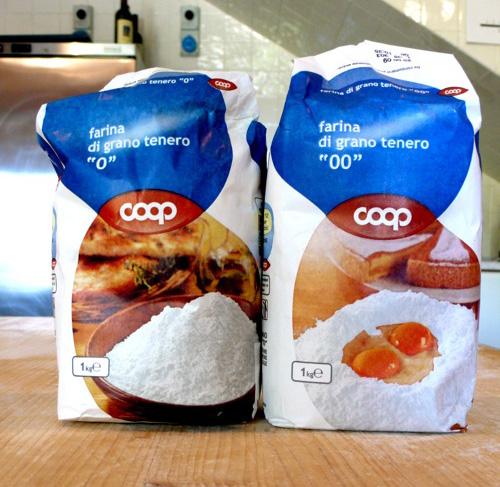 regular Italian white flour