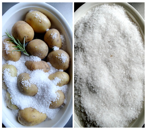 how to make potatoes in a salt crust