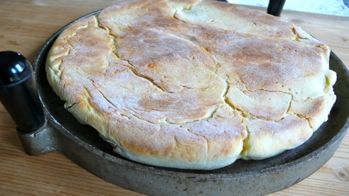 traditional Umbrian flat bread