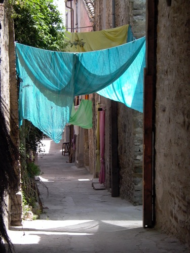 charming little alleys in Bevagna