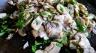white mushrooms trifolati