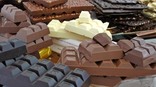 fine Venchi chocolate from Torino
