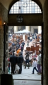 Antiques Fair in Arezzo, Southern Tuscany