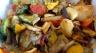 """""""bandiera"""", a fragrant stir fry of Italian summer vegetables"""
