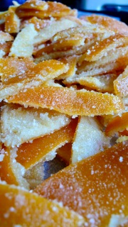 candied orange peels Italian recipe