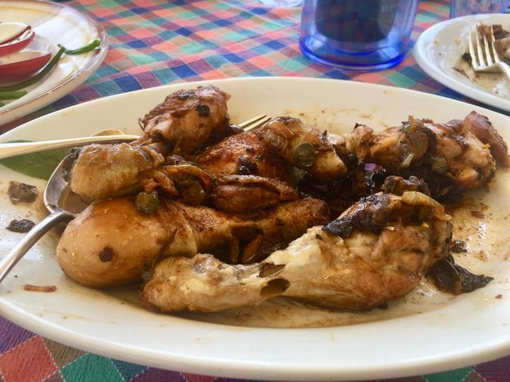 Umbrian style chicken