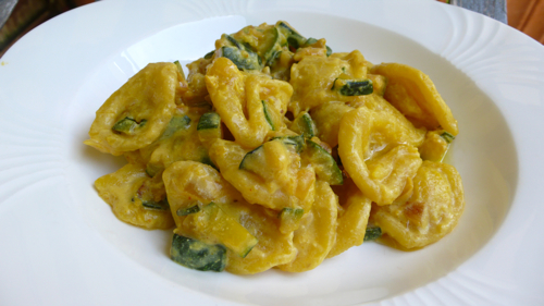orecchiette, little ear shaped pasta from Southern Italy