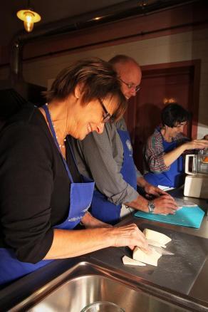 Alla Madonna del Piatto cooking class