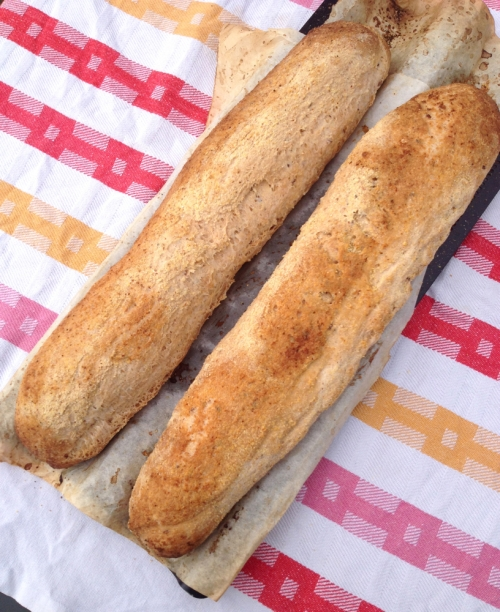 gf italian baguette with seeds