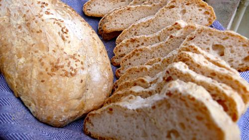 GF bruschetta bread!