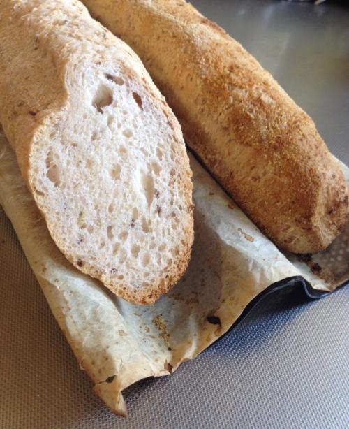 Italian style gluten free baguette