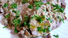 Italian veal with tuna sauce