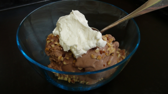 my favorite ice crea:  gelato al bacio