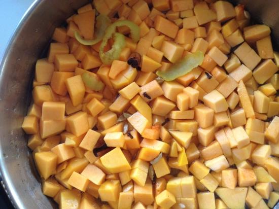 pickled butternut squash
