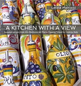 A Kitchen with a View Cookbook by Letizia Mattiacci