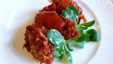 Italian style sweet pepper rolls