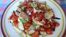 summer in a dish, the Umbrian panzanella