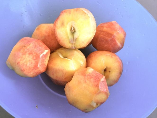 Italian peaches