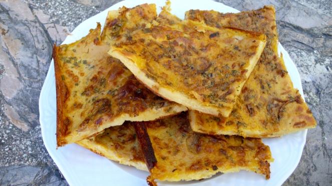 gluten free ligurian farinata cecina socca
