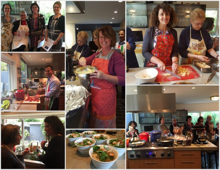 Italian language classes at Percorso Italiano in Seattle include fabulous food of course!