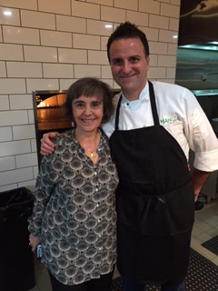 with Nick Pellegrino, chef, musician and phenomenal entertainer at Mangia Nashville