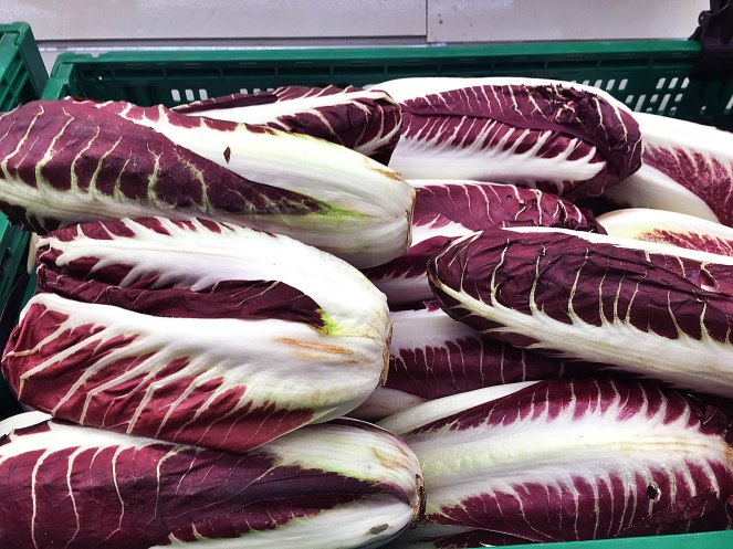 radicchio is a delicious salad used in Italy for cold and hot recipes like risotto