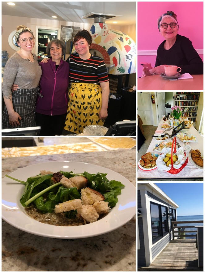A collection of images from A Kitchen with a View Tour in USA 2019