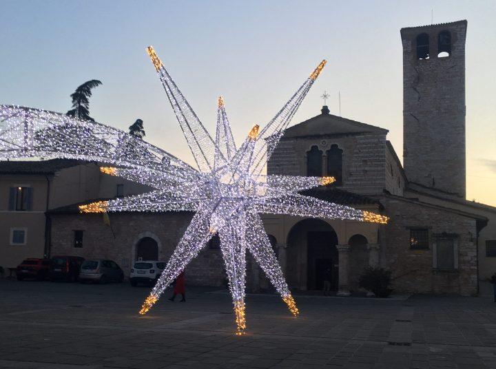 Christmas in Foligno Umbria Italy